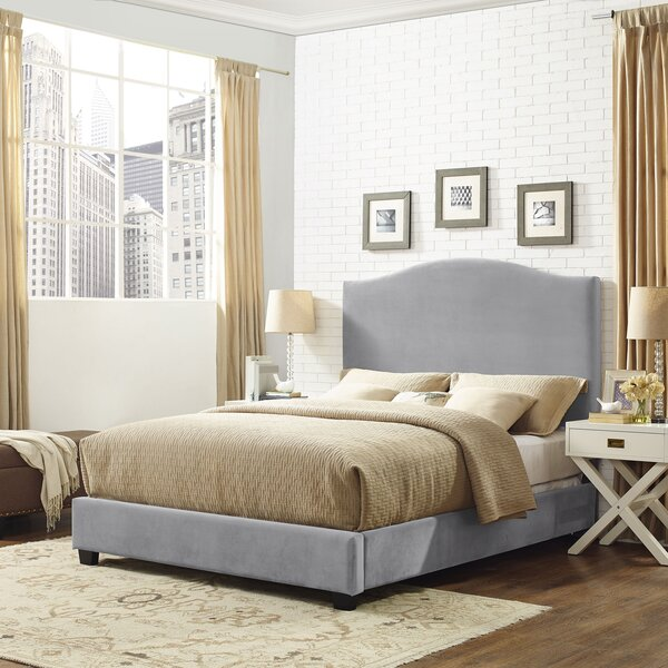 Benedict Camelback Upholstered Standard Bed by Alcott Hill