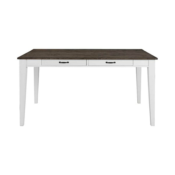 Brinda Dining Table with 4 Drawers by August Grove