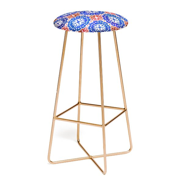 Schatzi Boho Medallion 30 Bar Stool by East Urban Home