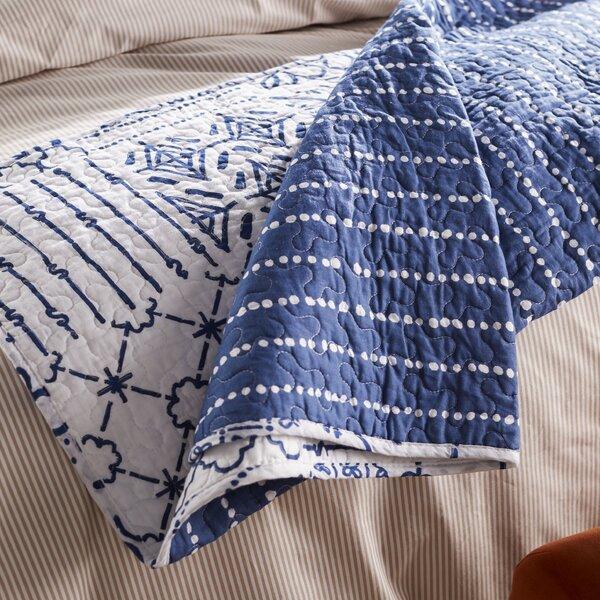 Hawthorn Cotton Throw Blanket by Laurel Foundry Modern Farmhouse