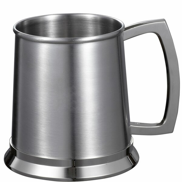 Medi Beer Glass 16 oz. Stainless Steel by Visol Products