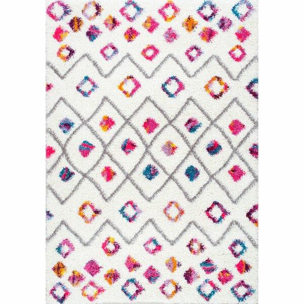 Gwendolyn Pink Area Rug by Viv + Rae