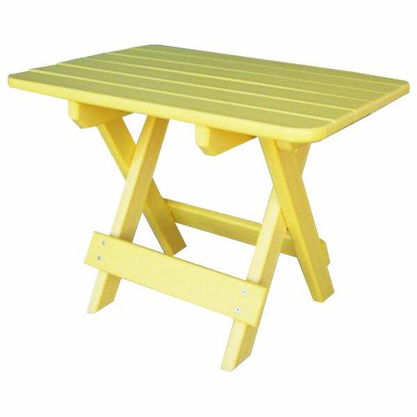Lorilee Folding Plastic/Resin Side Table by Red Barrel Studio