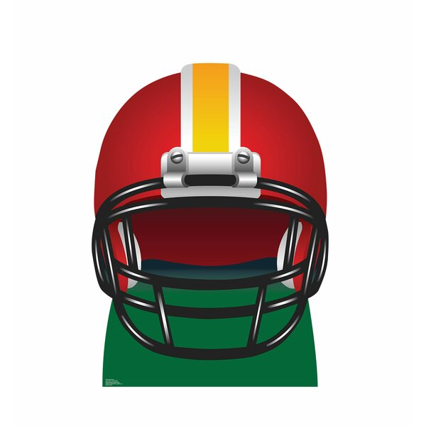 Football Helmet Standup by Advanced Graphics