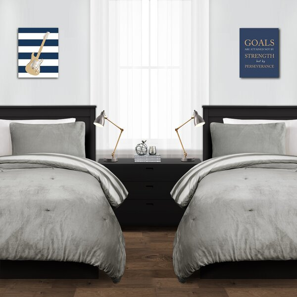 Lebanon Stripe Reversible Duvet Set by Winston Porter