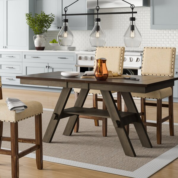 Colberta Center Island Extendable Dining Table by Birch Lane™ Heritage