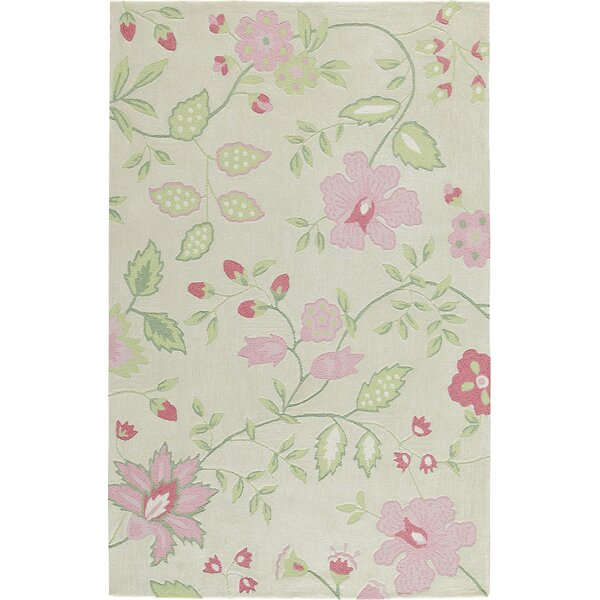 Trailing Vines Pink Rug by Birch Lane Kids™