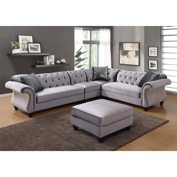Taylor Right Hand Facing Sectional By Everly Quinn