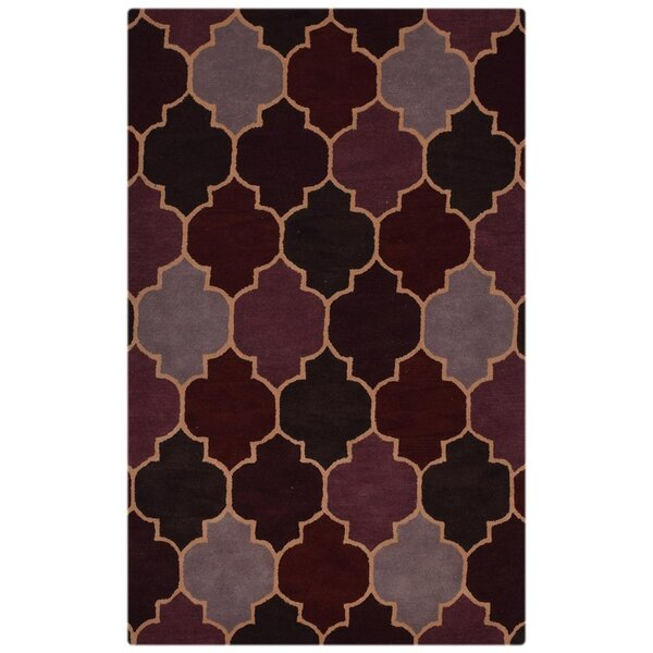 Heller Hand-Woven Brown Area Rug by Mercer41