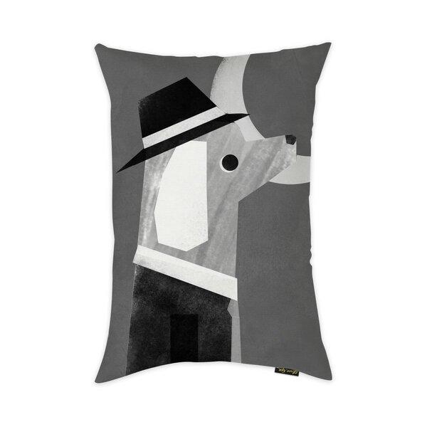Mcelfresh Night Pup Throw Pillow by Brayden Studio