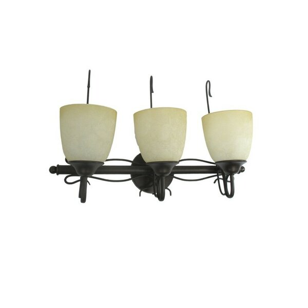 Aftonshire 3-Light Vanity Light by Charlton Home