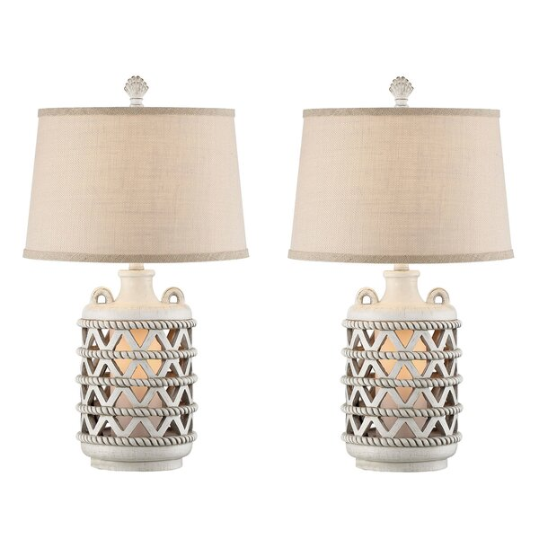 Andrew Lantern 26 Table Lamp (Set of 2) by Beachcrest Home