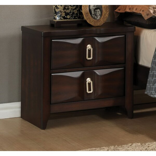 Elidge 2 Drawer Nightstand by Darby Home Co