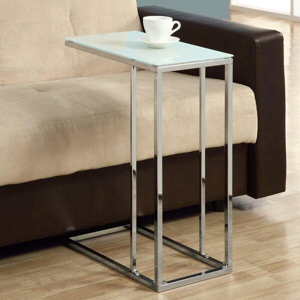 Frosted End Table by Monarch Specialties Inc.