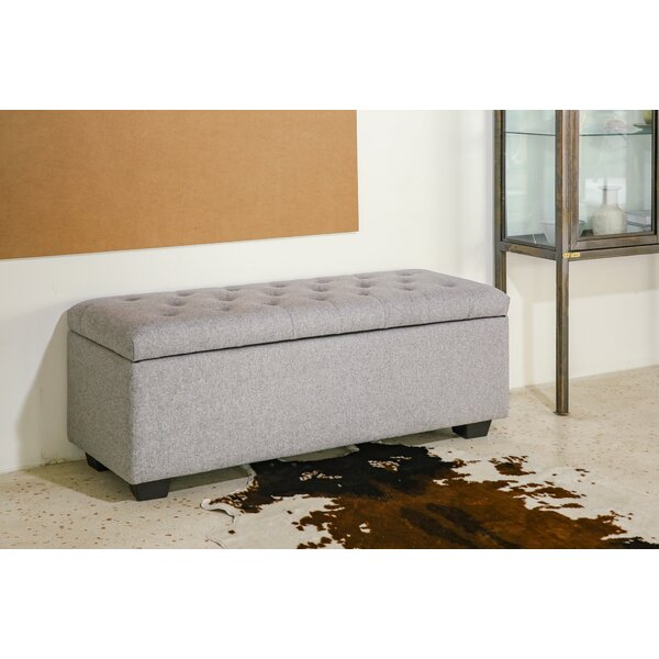 Kettner Upholstered Storage Ottoman by Charlton Home