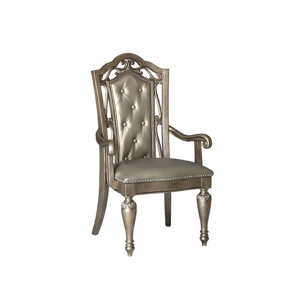 Liola Upholstered Dining Chair (Set of 2) by Astoria Grand