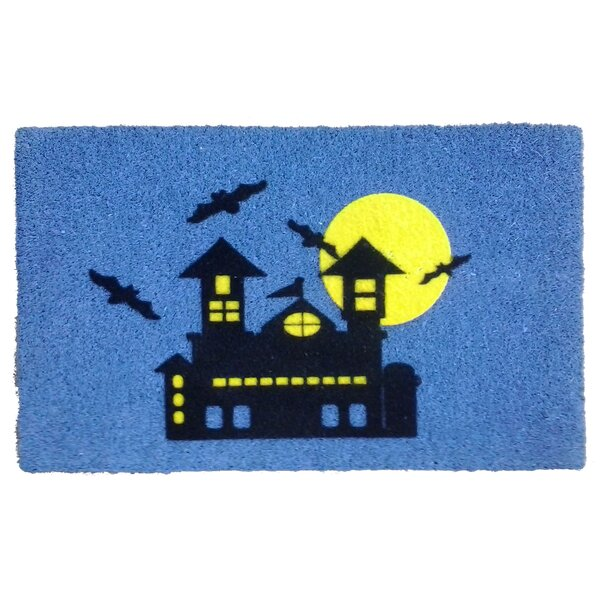 Haunted House Doormat by Imports Decor