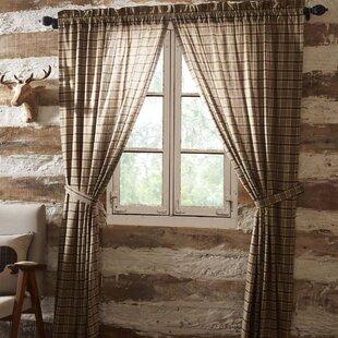 Dubay Lined Room Darkening Rod Pocket Curtain Panels Set Of 2