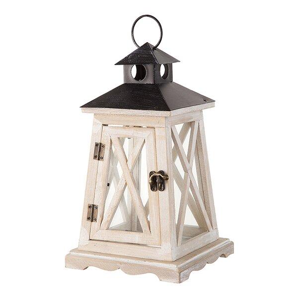Wood Lantern by Breakwater Bay