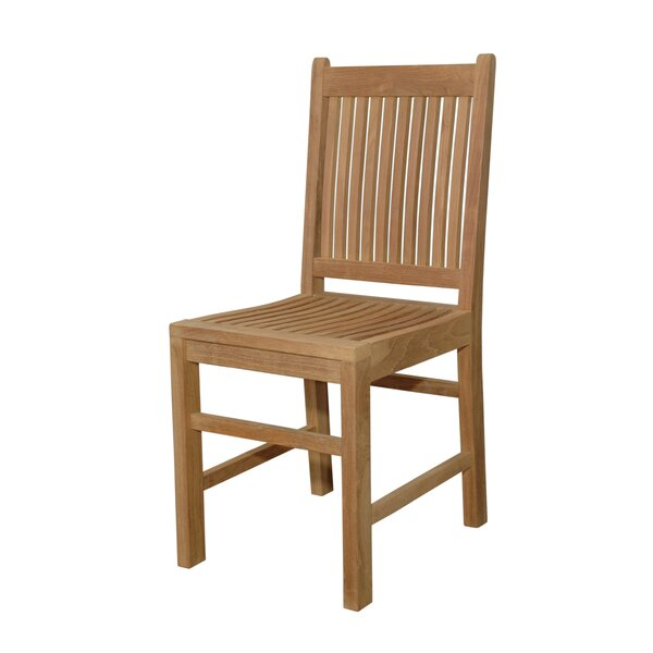 Saratoga Teak Patio Dining Chair by Anderson Teak