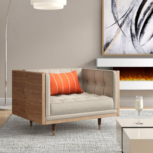 Lancaster Armchair by Comm Office