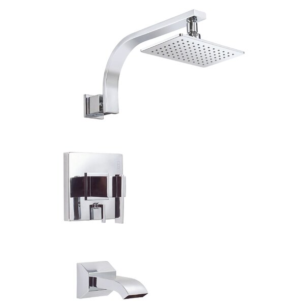 Sirius Diverter Thermostatic Tub And Shower Faucet Trim With Lever Handle By Danze®