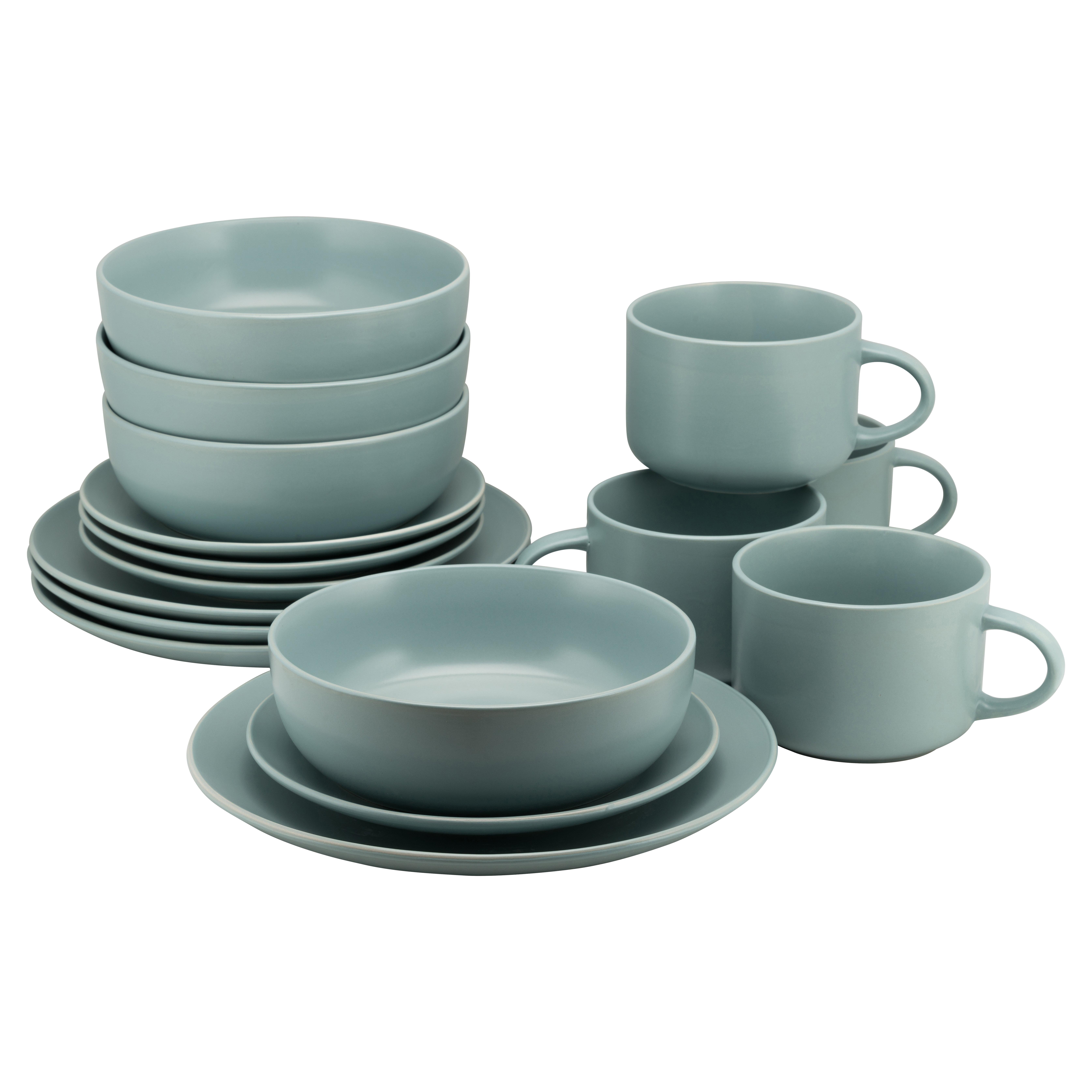 Wickham 16 Piece Dinnerware Set Service For 4 Reviews Joss Main