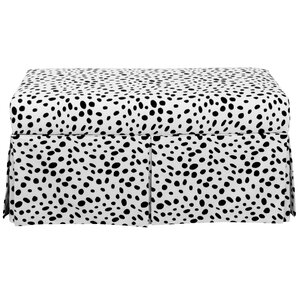 Zoe Polyester Upholstered Storage Bench by Skyline Furniture