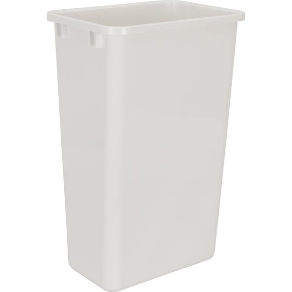 Plastic 12.5 Gallon Open Pull Out/Under Counter Trash Can by Hardware Resources