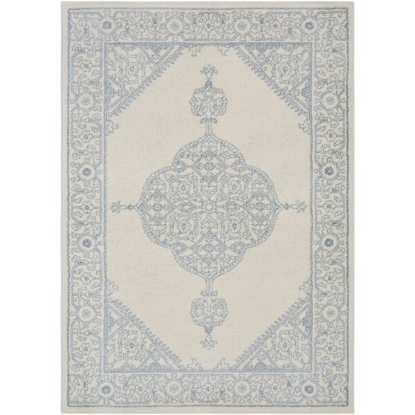 Corinna Cream Area Rug by Bungalow Rose