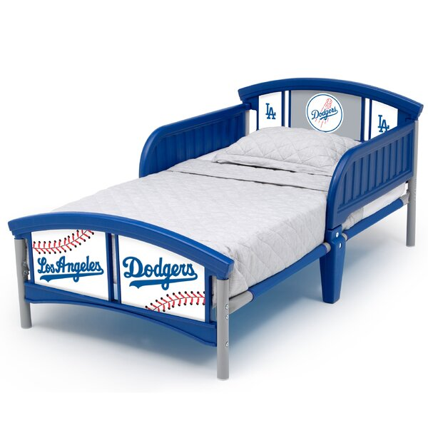 Los Angeles Dodgers Plastic Toddler Bed by Delta Children