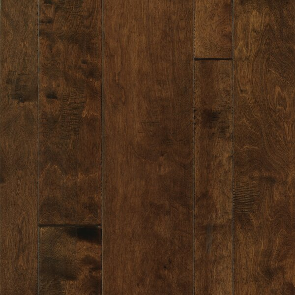 Allegra Random Width Engineered Birch Hardwood Flooring in Java Birch by Welles Hardwood