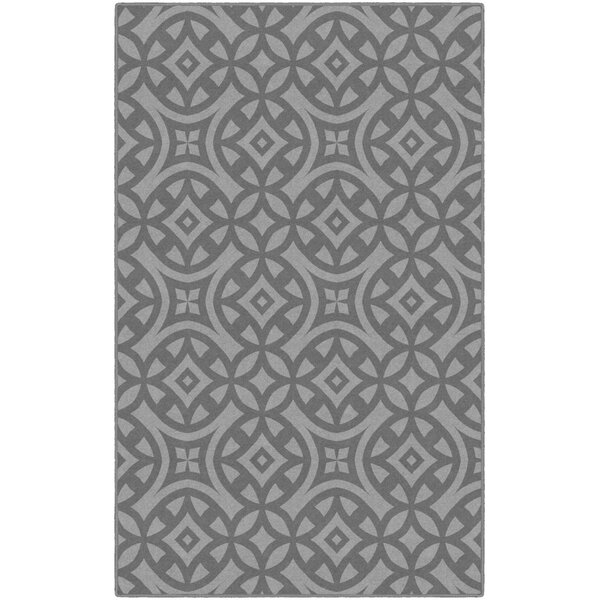Melton Trellis Gray Area Rug by World Menagerie