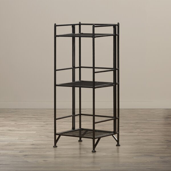 Jennings Way 3 Tier Folding Etagere Bookcase by Zipcode Design