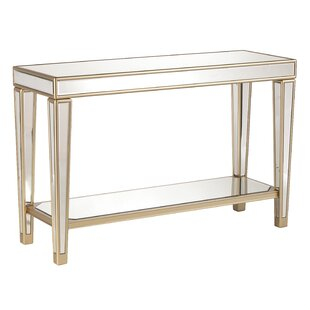Paulornette Mirrored Console Table
