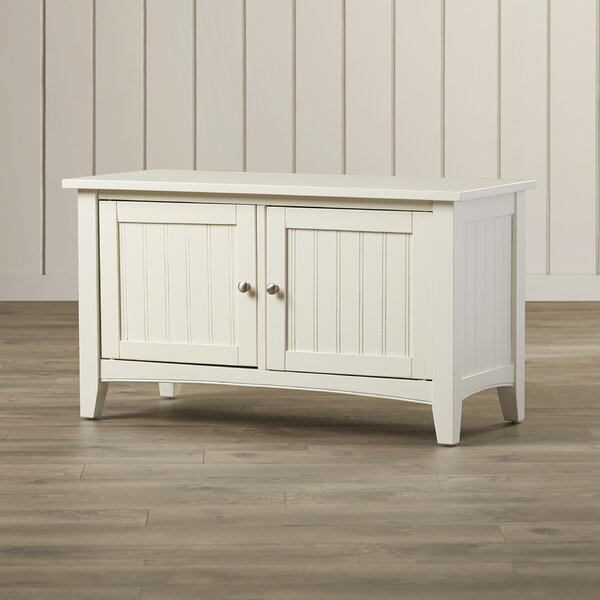 Bel Air Wood Storage Bench by Three Posts Three Posts
