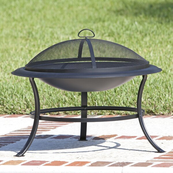 Tokia Steel Wood Burning Fire Pit by Fire Sense