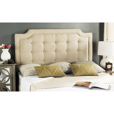 Darby Home Cofindlay Upholstered Panel Headboard Darby Home Co Size Full Upholstery Linen Hemp Dailymail