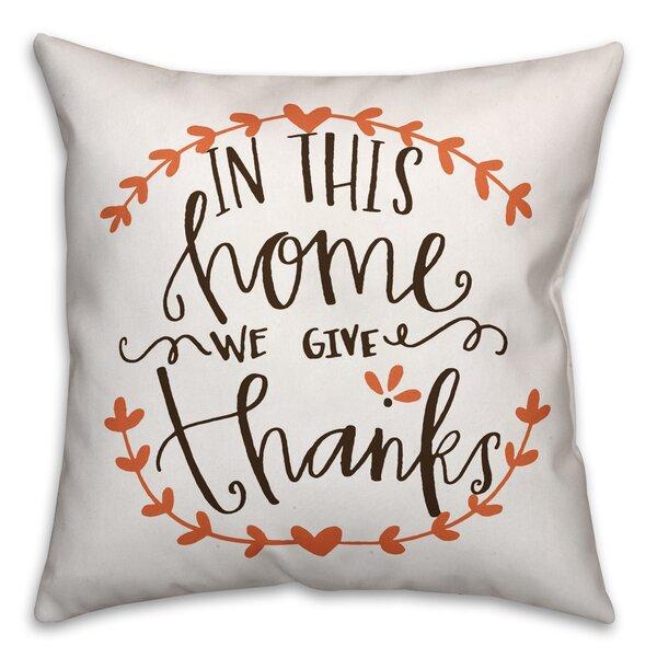 Dervilla Throw Pillow by Gracie Oaks