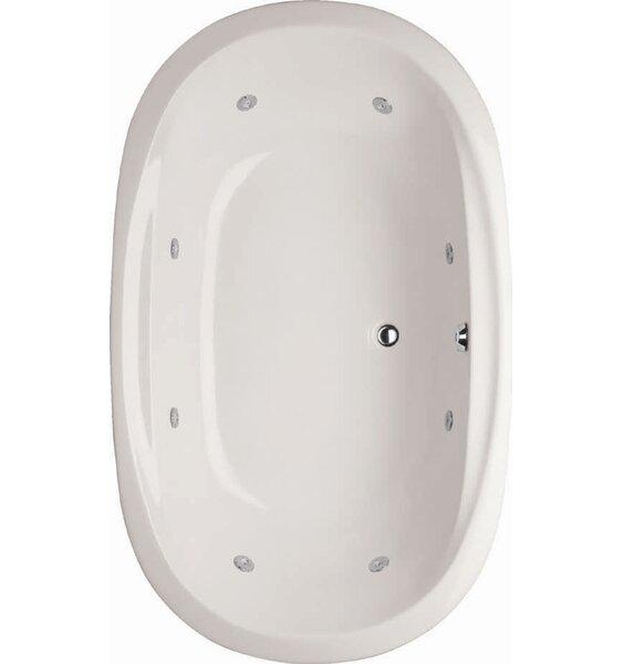Designer Galaxie 66 x 44 Whirlpool Bathtub by Hydro Systems