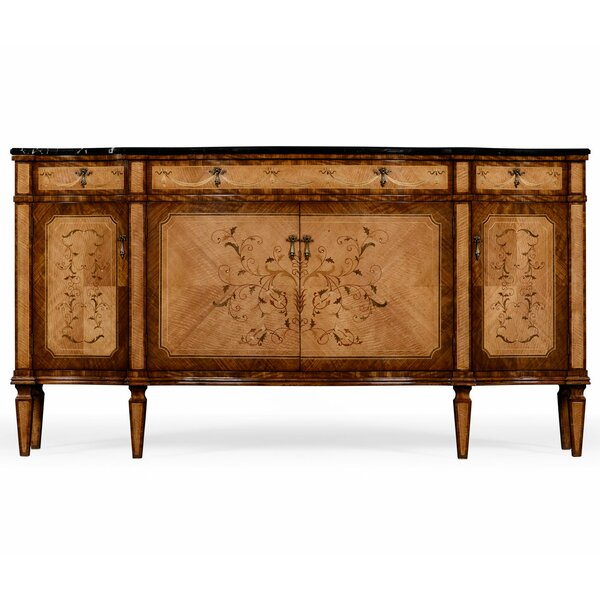 Serpentine Sideboard by Jonathan Charles Fine Furniture Jonathan Charles Fine Furniture