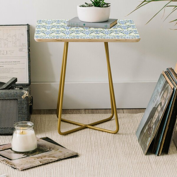 Cross Legs End Table By East Urban Home