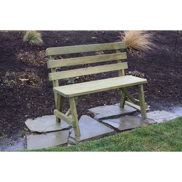 Hurtt Traditional Garden Bench by August Grove