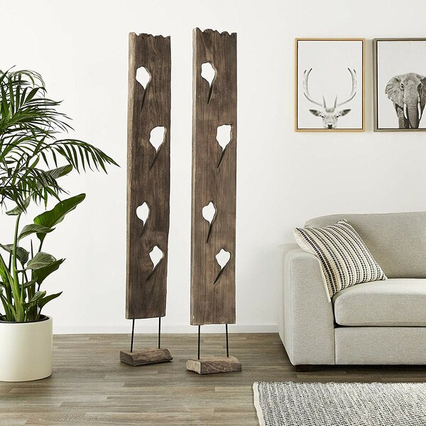 Pineiro Sculpture (Set of 2) by Union Rustic