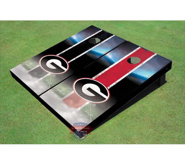 NCAA Long Strip Cornhole Board (Set of 2) by All American Tailgate