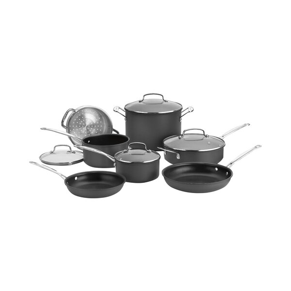 Nonstick 11 Piece Cookware Set by Cuisinart