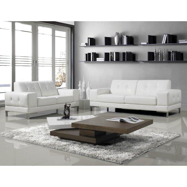 Zackery 2 Piece Living Room Set by Orren Ellis