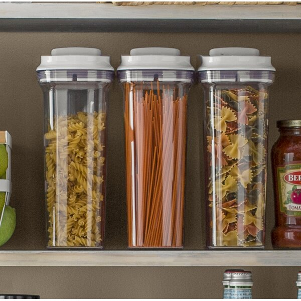 Good Grips Pop Cereal Dispenser (set Of 3) By Oxo.