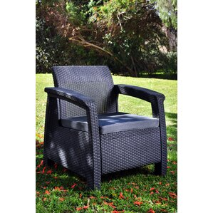 berard all weather outdoor armchair with cushions - Outdoor Recliner Chair