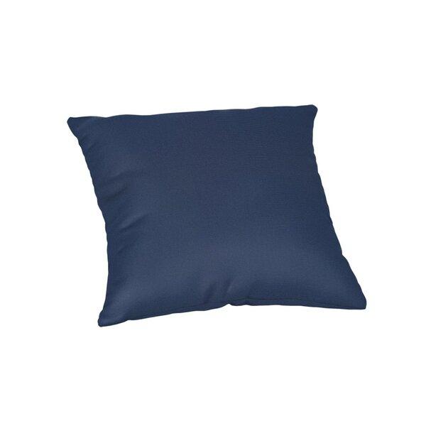 Feagin Sunbrella Solid Outdoor Throw Pillow by Wrought Studio